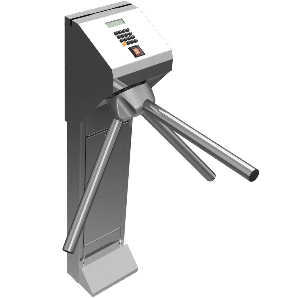 catraca pedestal inox 1