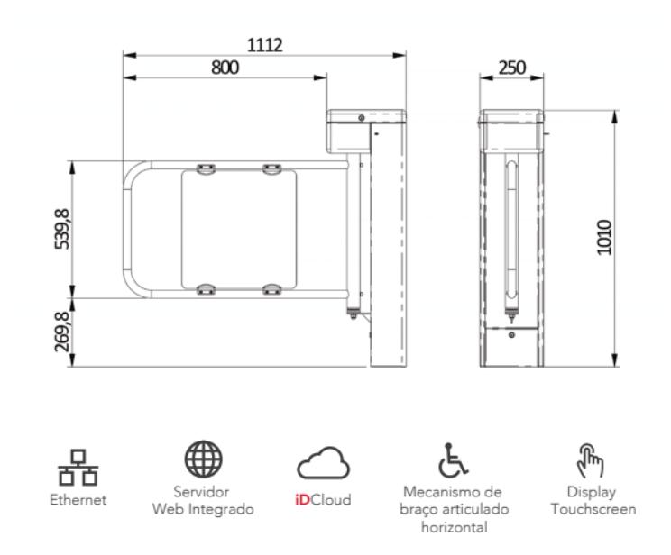 idblock pne diagrama instalacao